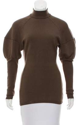Alaia Wool Turtleneck Sweater