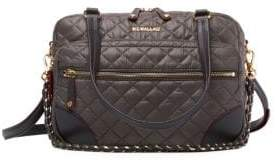MZ Wallace Crosby Quilted Nylon Crossbody Bag