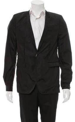 Les Hommes Nylon One-Button Blazer w/ Tags