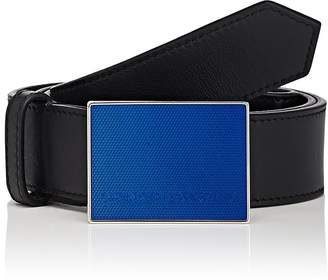 Calvin Klein Men's Plaque-Buckle Belt