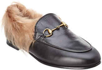Gucci Jordaan Wool & Leather Loafer
