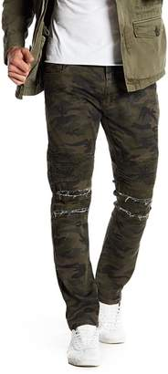 "X-Ray XRAY Camo Print Ribbed Standard Fit Jeans - 30-32"" Inseam"