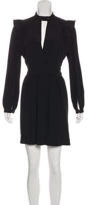Isabel Marant Pleated Long Sleeve Dress
