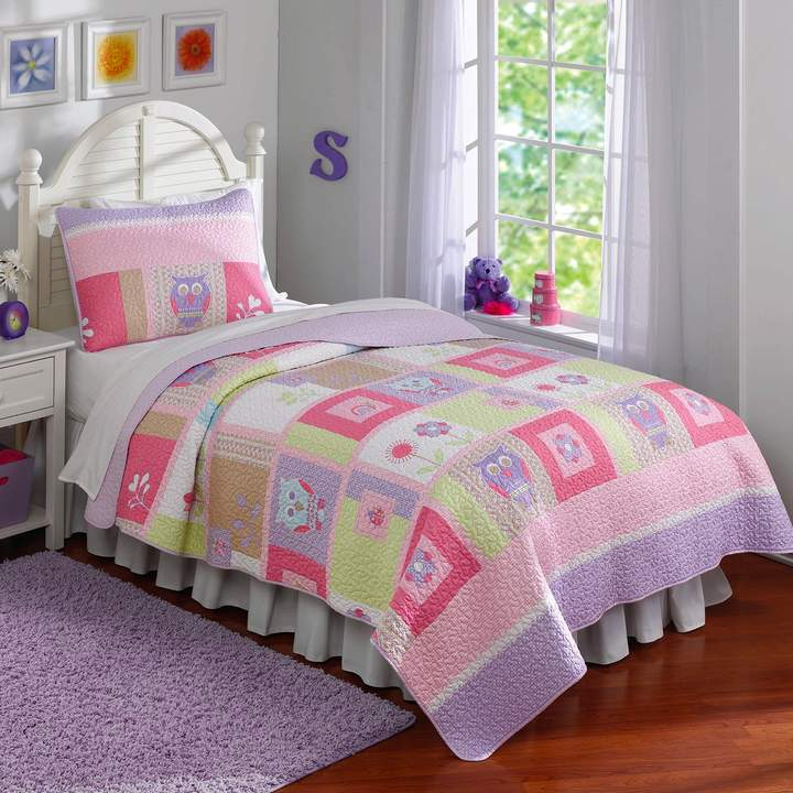 Kohl's Happy Owls Quilt Set
