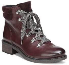 Sam Edelman Darrah Lace-Up Leather Booties