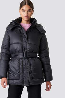 NA-KD Na Kd Belted Puff Jacket