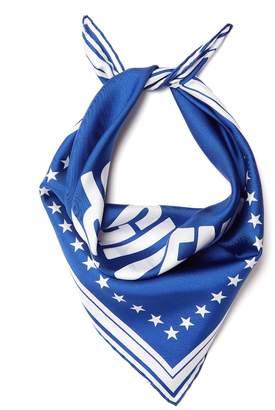 Givenchy Logo-print silk-twill scarf