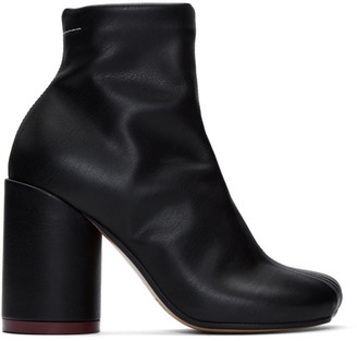 MM6 MAISON MARGIELA Black Toe Boots