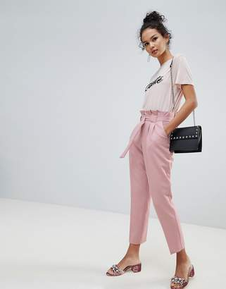 Miss Selfridge Papaerbag Trouser