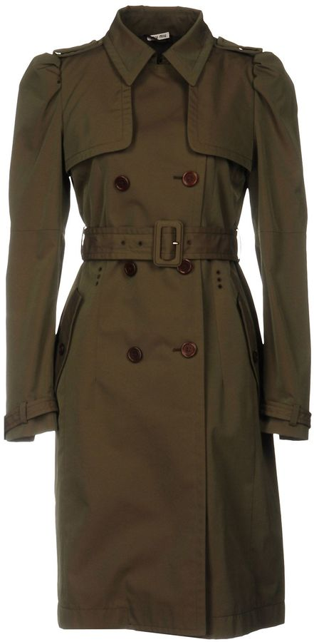 Miu MiuMIU MIU Overcoats