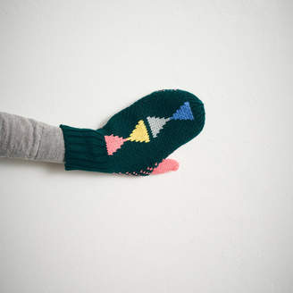 Lowie Triangle Mittens Forest