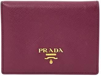 Prada Leather card wallet