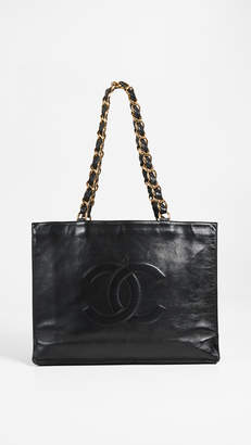 Chanel What Goes Around Comes Around Flat Chain Tote