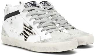Golden Goose Mid Star leather sneakers