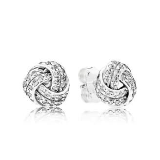 Pandora Women Vermeil Stud Earrings - 287297CZ L3r9mOl