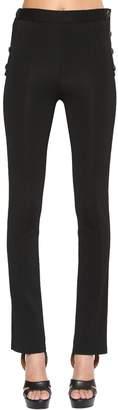 Givenchy Stretch Milano Jersey Pants