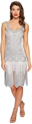 Unique Vintage Eleanor Flapper Dress Women's Dress