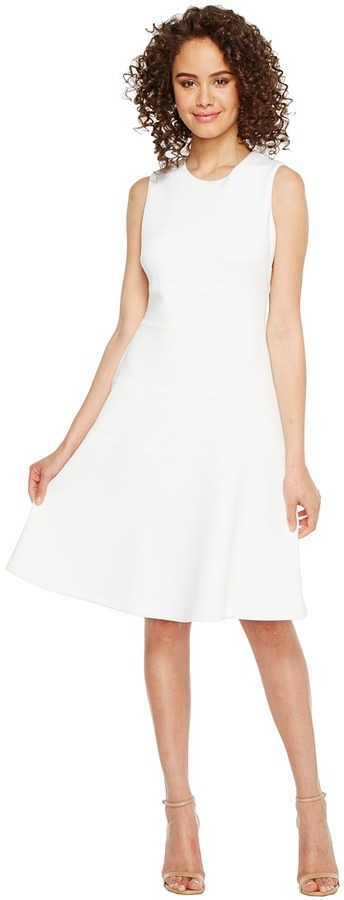Calvin Klein - Fit Flare Dress Women's Dress