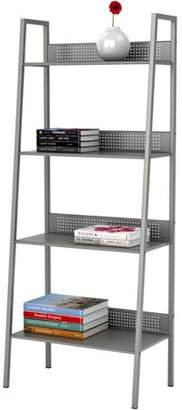 Atlantic 4-Tier Angled Ladder Shelving Unit