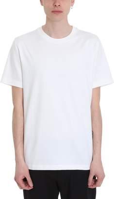 Theory White Cotton T-shirt