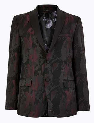 Marks and Spencer Printed Slim Fit Jacket