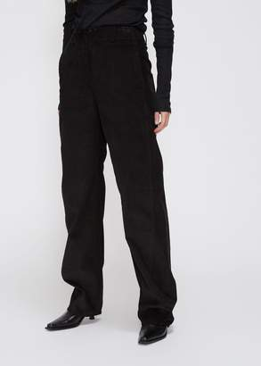 Lemaire Corduroy Wide Twisted Pants