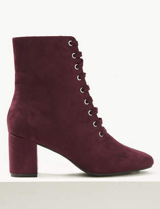 M&S CollectionMarks and Spencer Lace-up Ankle Boots