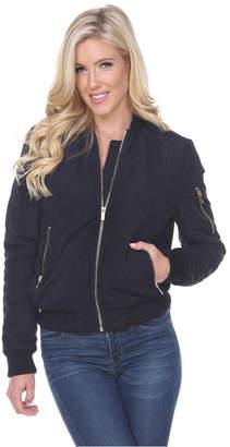 White Mark Women Bomber Jacket