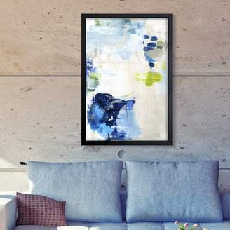 Willa Arlo Interiors 'Perks Abstract Art' Wrapped Canvas Print Format: Canvas,