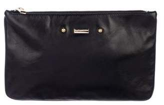 Marc Jacobs Leather Zip Clutch