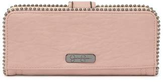 Jessica Simpson Camile Studded Snap Wallet
