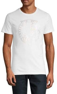 Versace Logo Cotton Tee
