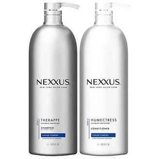 Nexxus Deep Hair Hydration Therappe Caviar Complex 33.8 floz and Humectress Caviar Complex Conditioner 33.8 floz