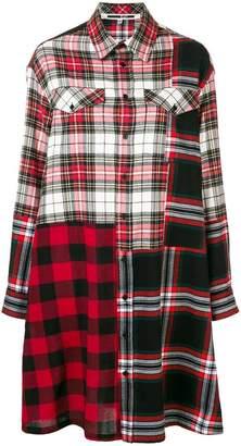 McQ tartan shirt dress