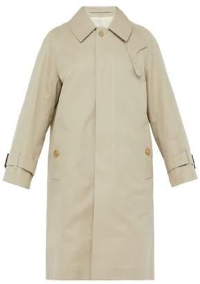 MACKINTOSH Cotton Gabardine Trench Coat - Mens - Beige