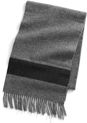 Johnstons of Elgin Hbc Stripes HBC x Wool Scarf