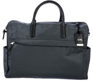 Tumi Leather-Trim Nylon Briefcase