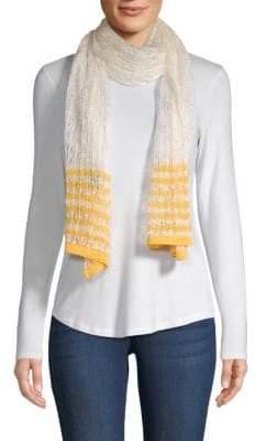 Missoni Striped Crochet Scarf
