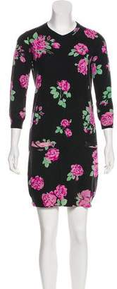 Leonard Wool Knit Dress