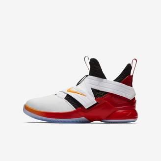 b9ca0c4c80e6 Nike Big Kids  Basketball Shoe LeBron Soldier XII