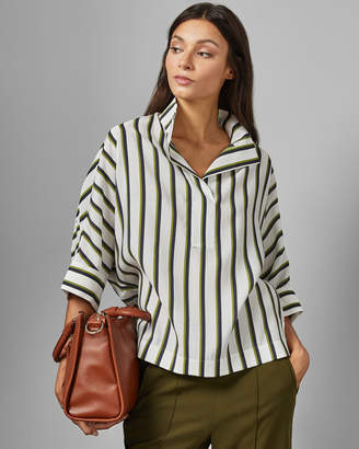 Ted Baker ALECIIA Striped batwing blouse