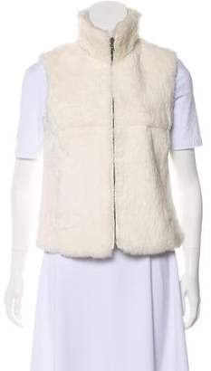 Theory Rabbit Fur Vest