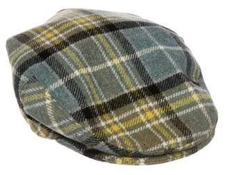 Barneys New York Barney's New York Wool Newsboy Hat
