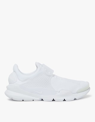 Sock Dart in White/White $130 thestylecure.com