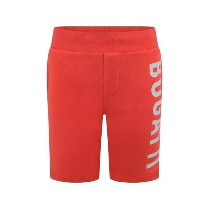 BugattiBoys Red Logo Shorts