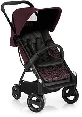 I'coo Acrobat Stroller Shopper, Fishbone Bordeaux