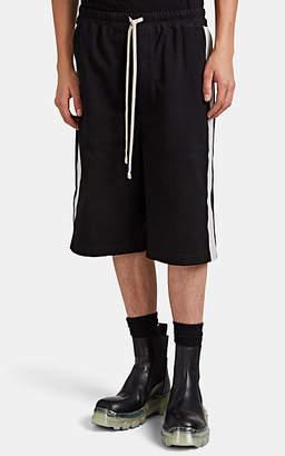 Rick Owens Men's Karloff Cotton Boxing Shorts - Black