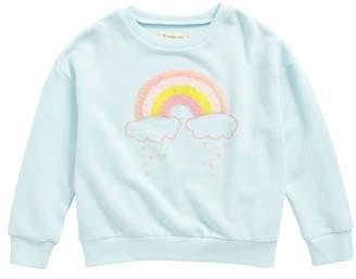 Tucker + Tate Rainbow Applique Sweatshirt
