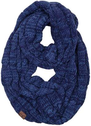 Funky Junque S1-6100-64 Infinity Scarf - (Solid)