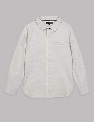 Autograph Pure Cotton Shirt (3-16 Years)
